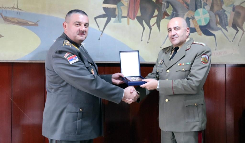 Сусрет заменика начелника генералштабова војски Србије и Бугарске