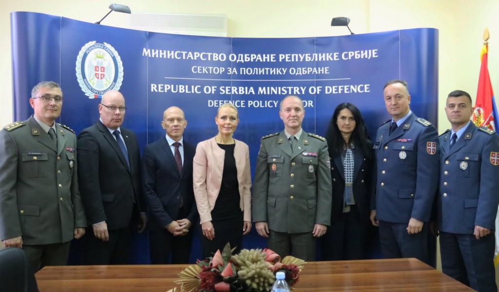 Poseta delegacije Ministarstva odbrane Republike Finske