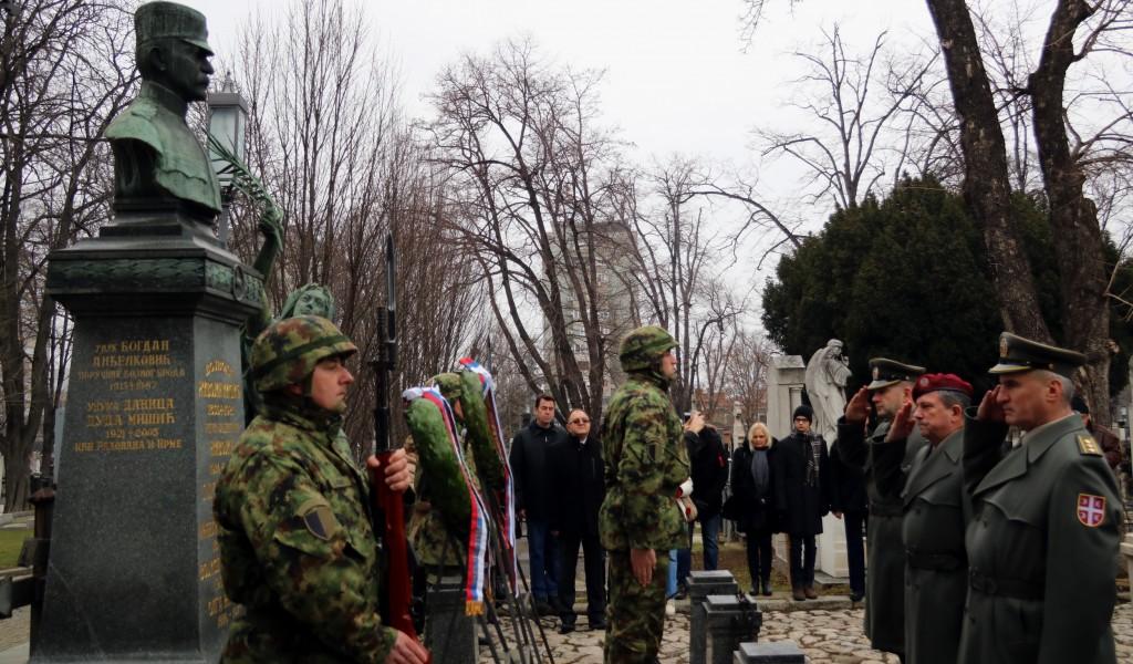 Obeležena godišnjica smrti vojvoda Živojina Mišića i Petra Bojovića i armijskog generala Pavla Jurišića Šturma