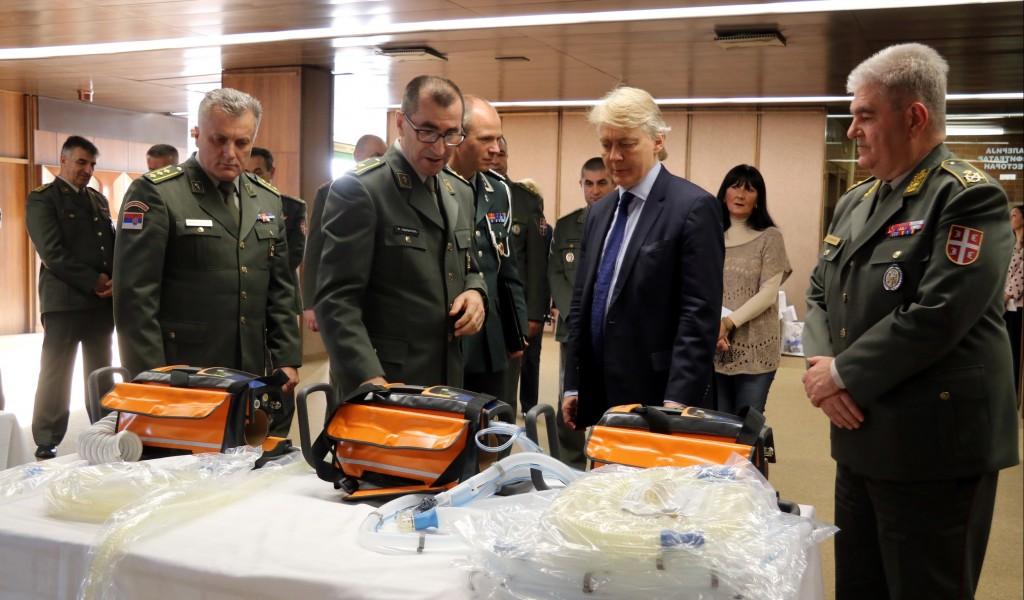 Donacija Kraljevine Norveške Upravi za vojno zdravstvo