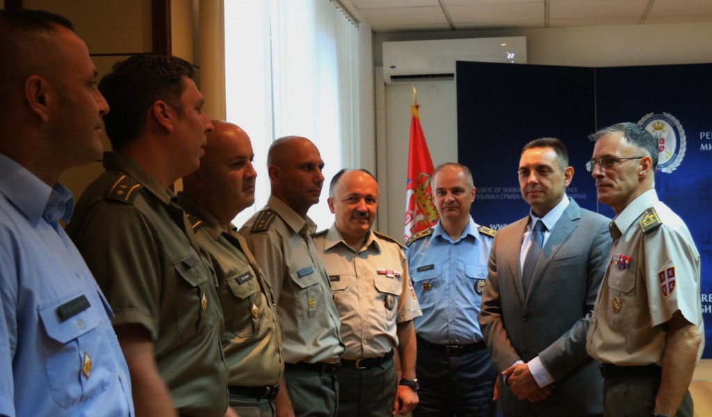 Reception ceremony for officers after completion of General Staff Course abroad