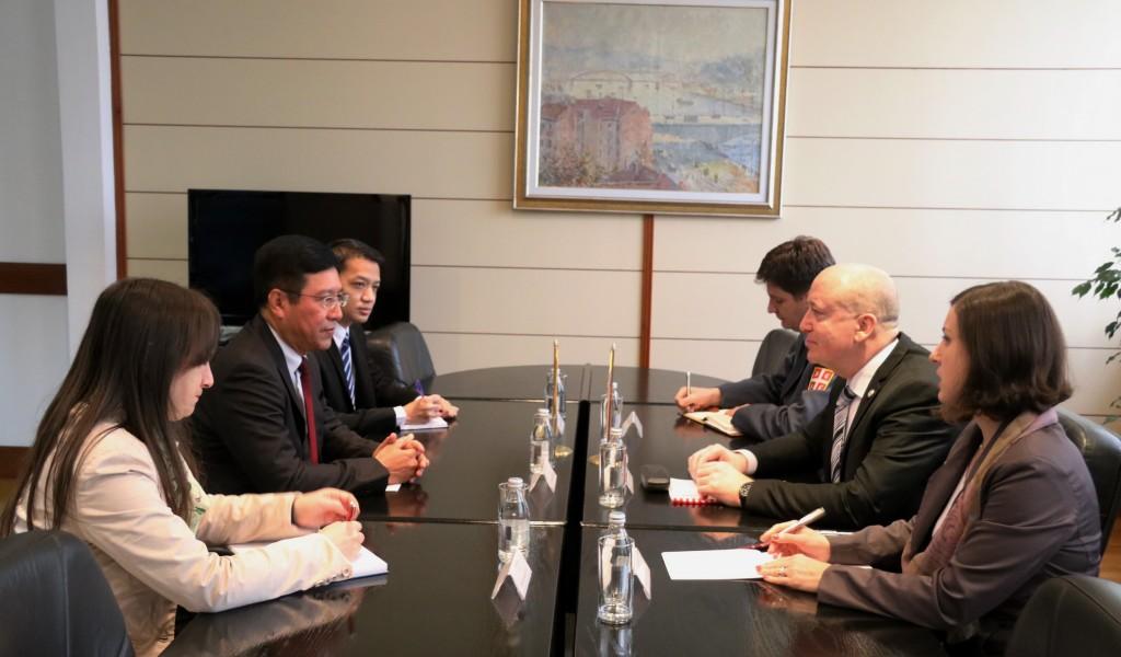 Састанак државног секретара Живковића са амбасадором Мјанмара