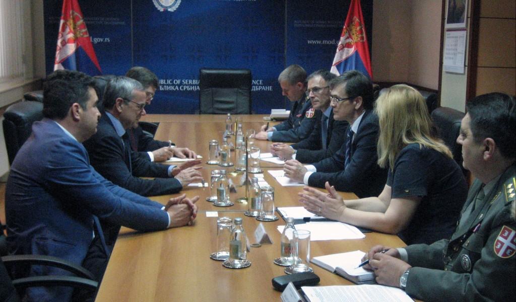 Државни секретар Нерић са председником Парламентарне скупштине НАТО