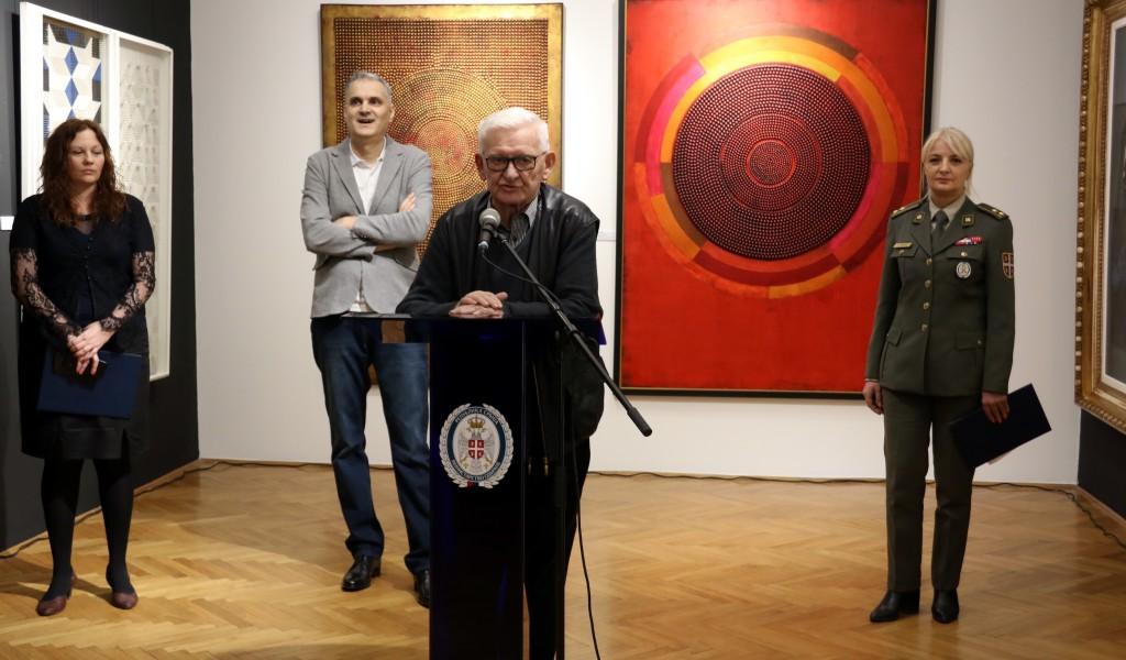 Отворена изложба Српско сликарство XX века 1950 2000 избор из приватних збирки