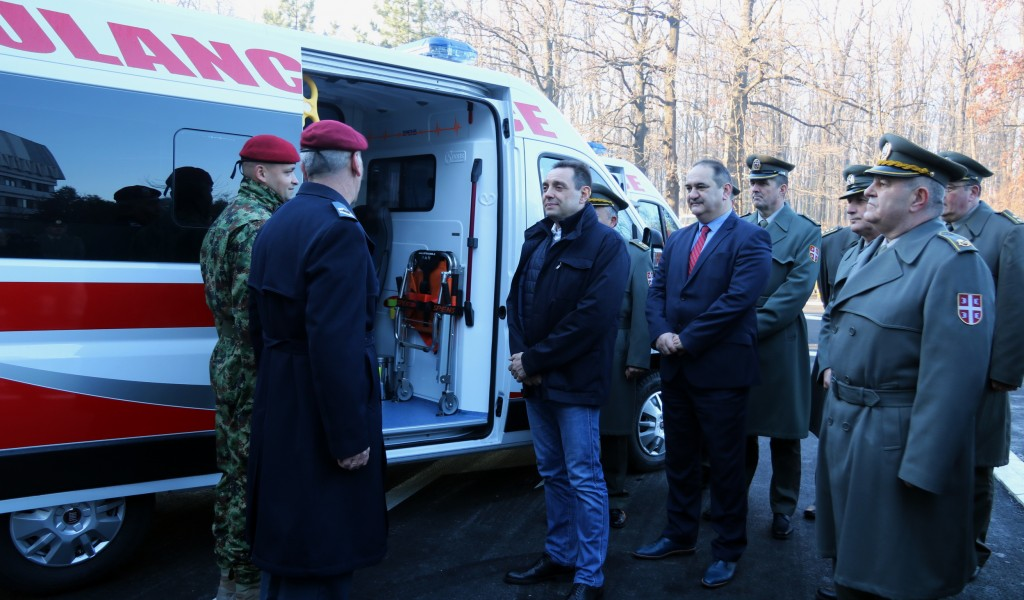 Minister Vulin Investments in military health care are investments in the quality of life of every citizen of Serbia