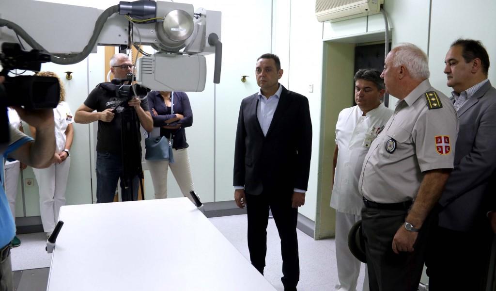 После три деценије у Војну болницу Ниш у 2018 години уложено више од милион евра