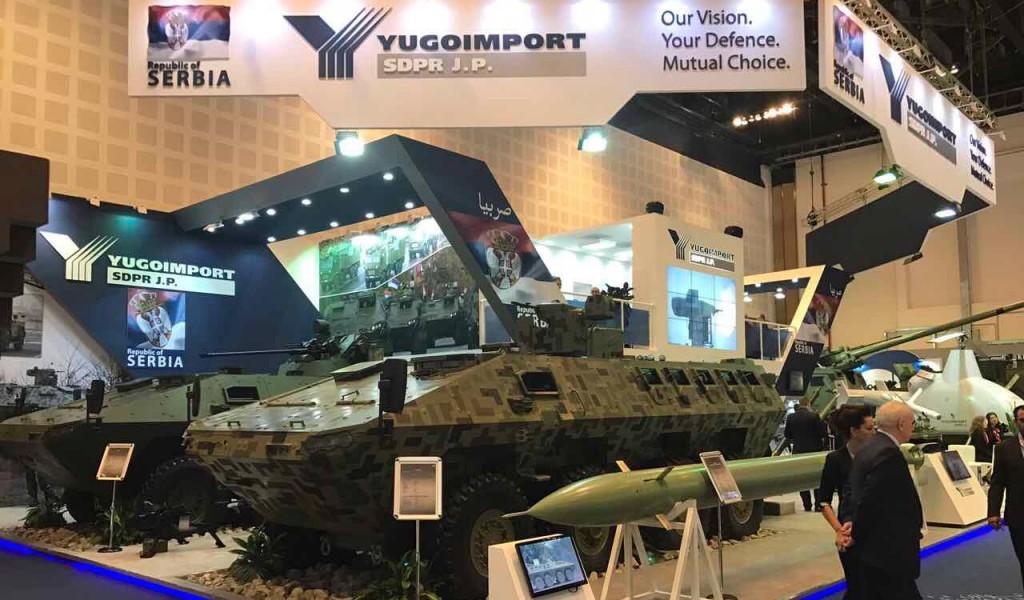 Производи српске војне индустрије звезде Сајма наоружања у Абу Дабију