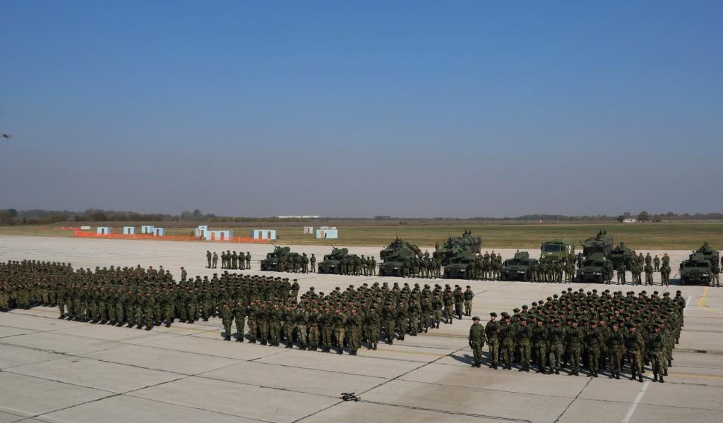 Припреме за Приказ способности Војске Србије Слобода 2019