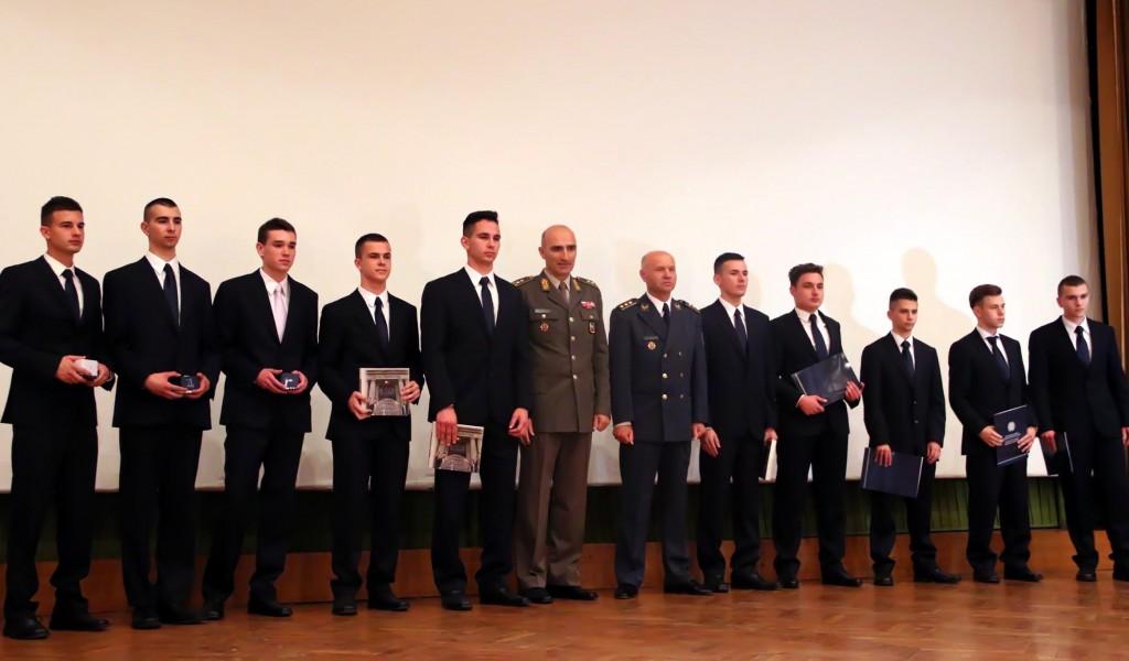 Завршетак школовања 41 класе Војне гимназије