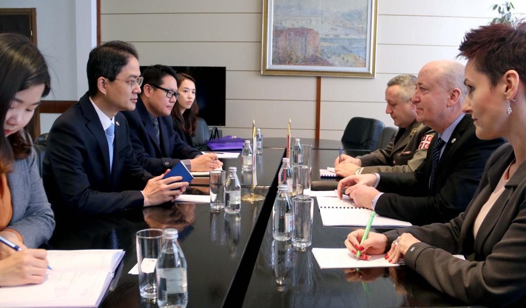 Sastanak državnog sekretara Živkovića i ambasadora Republike Koreje