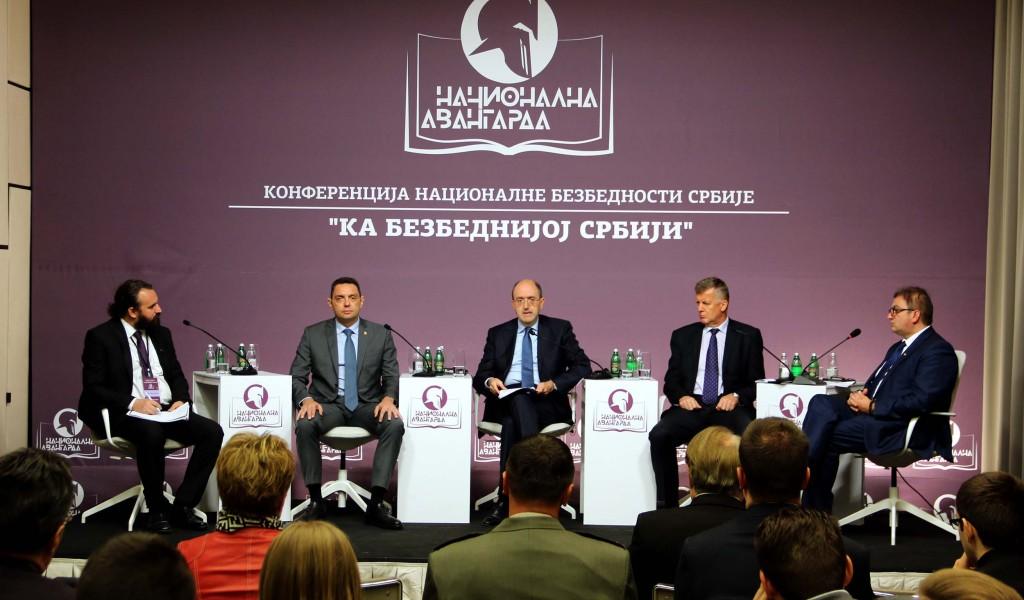 Министар Вулин Суштинско питање наше и безбедности читавог региона је питање велике Албаније