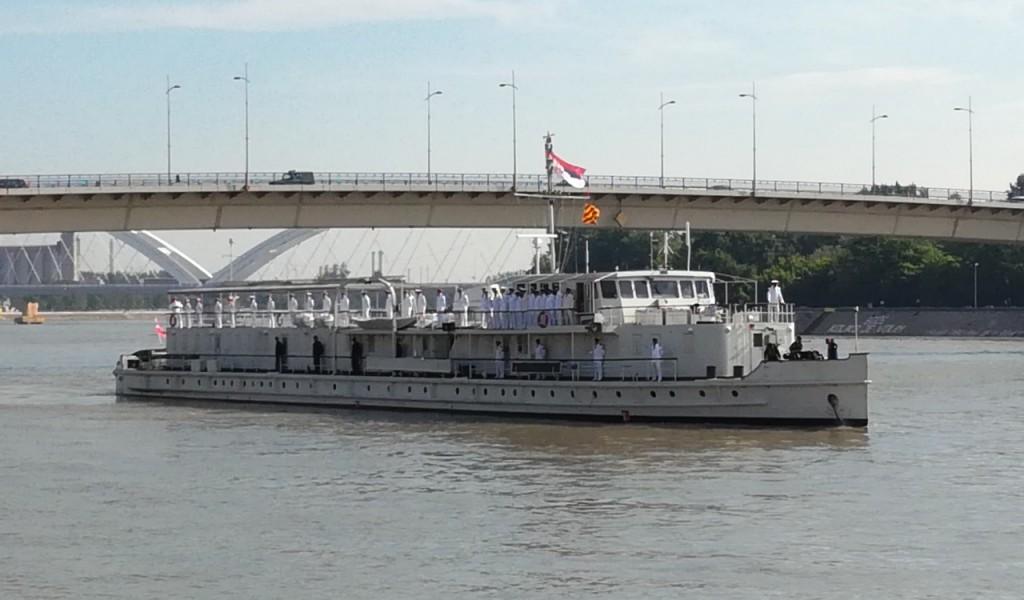 Kadeti Kozarom do Budimpešte