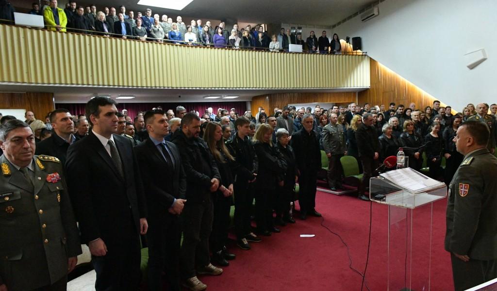 Комеморација настрадалим радницима ТРЗ Крагујевац