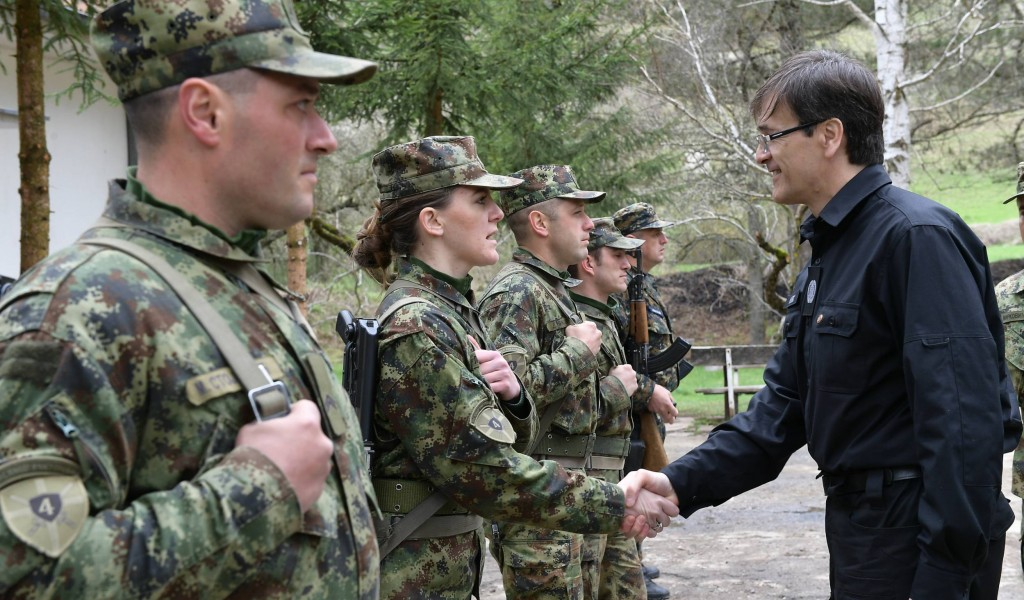 Обилазак Заједничких снага и база у Копненој зони безбедности