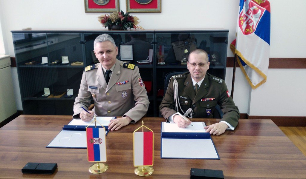 Bilateral Military Cooperation Programme with Poland signed