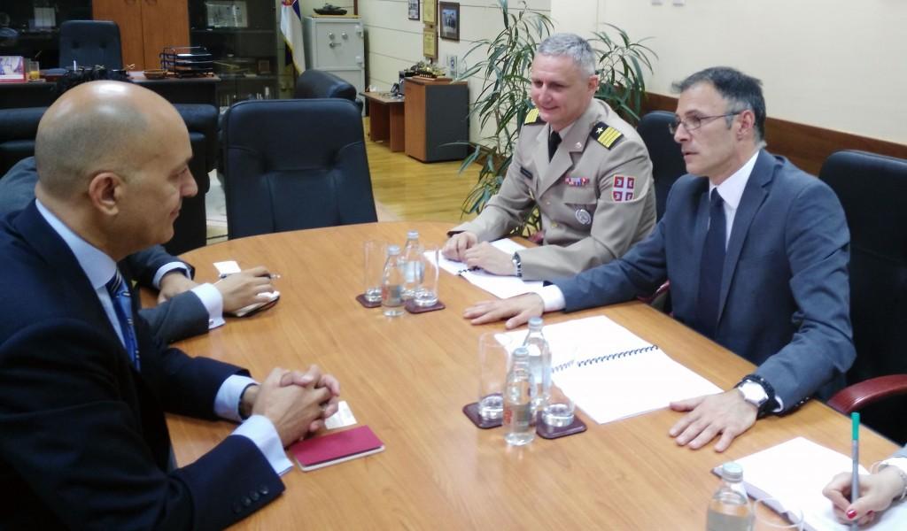 Састанак са председавајућим SEDM