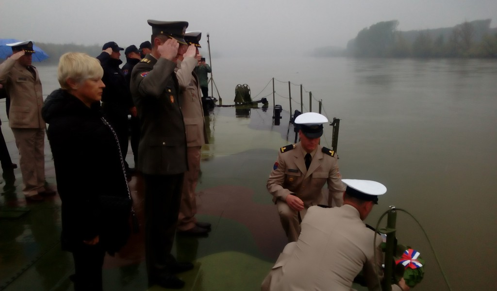 Commemoration of the 78th Anniversary of the Heroism of the Crew of Monitor Drava
