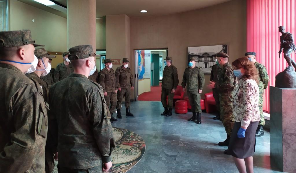 Припадници експертских тимова Руске Федерације у посети Војном музеју