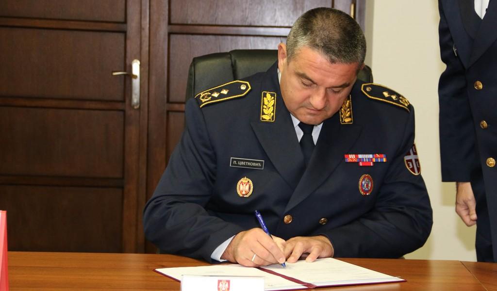 Генерал мајор Петар Цветковић примио дужност заменика начелника Генералштаба Војске Србије