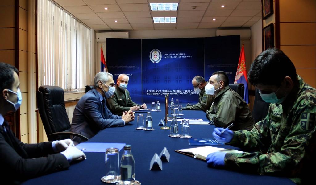 Састанак министра Вулина са амбасадором Руске Федерације Боцан Харченком