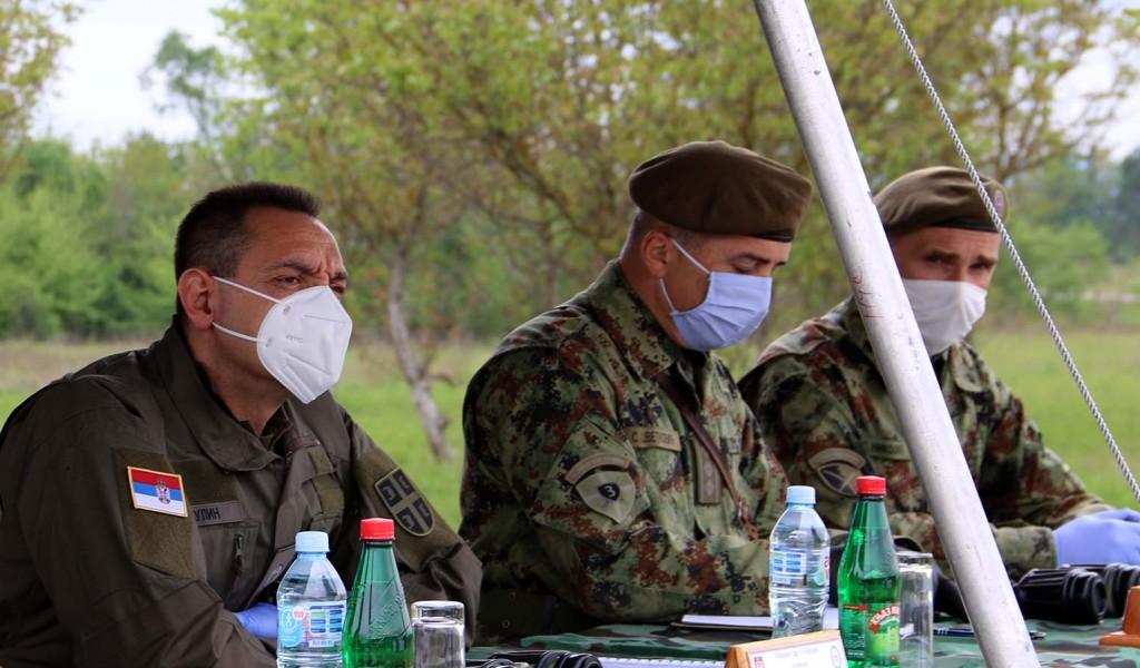 Министар Вулин За време ванредног стања боловања у Трећој бригади испод три процента