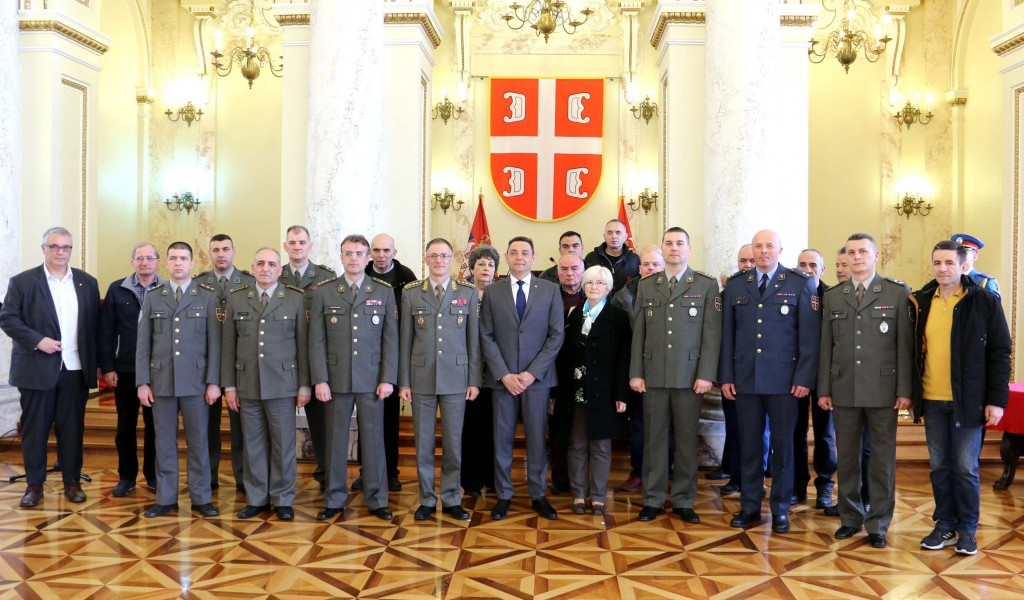 Minister Vulin Ministry of Defence and Serbian Armed Forces take care of their members