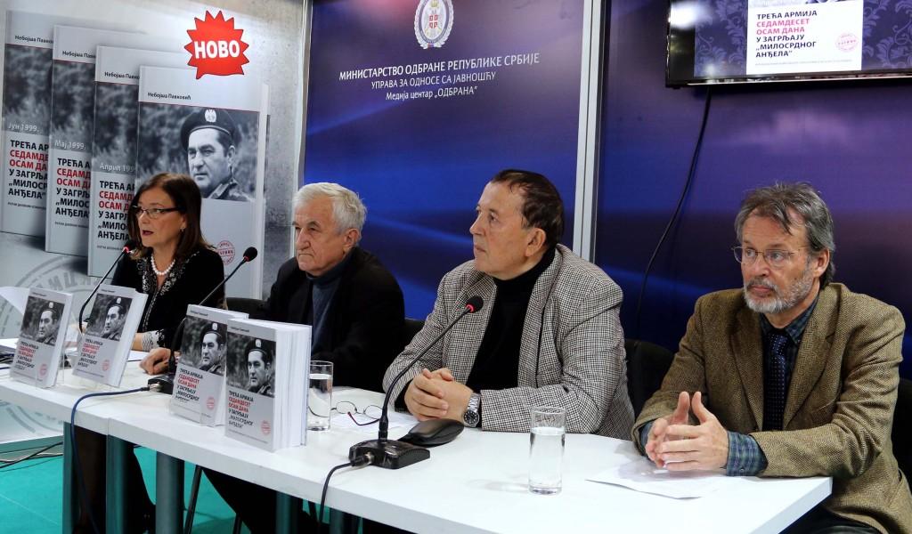 Promocija ratnog dnevnika generala Pavkovića na Sajmu knjiga