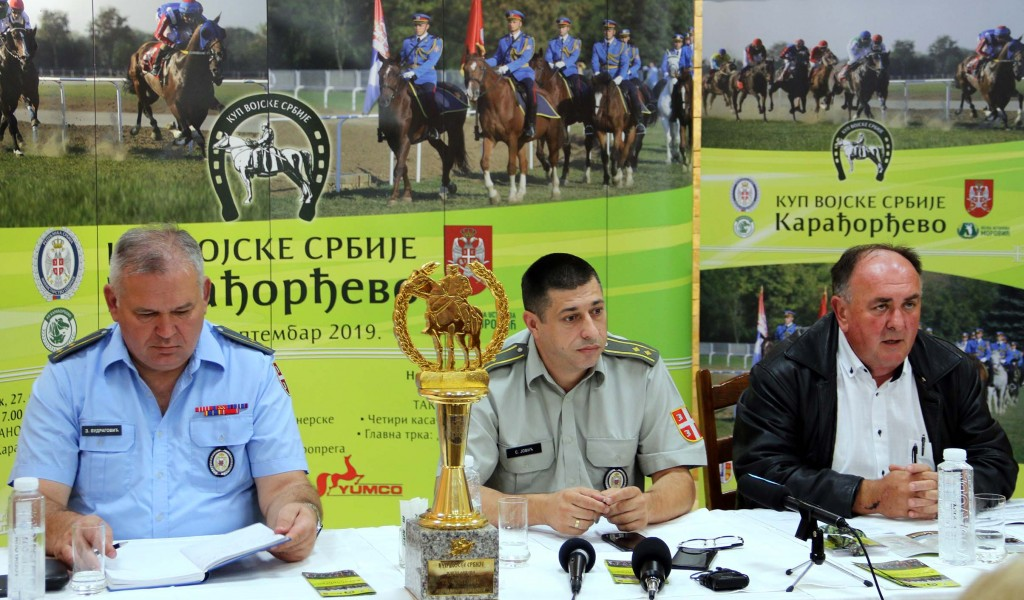 Press Conference on the Occasion of The Serbian Armed Forces Cup Karađorđevo 2019