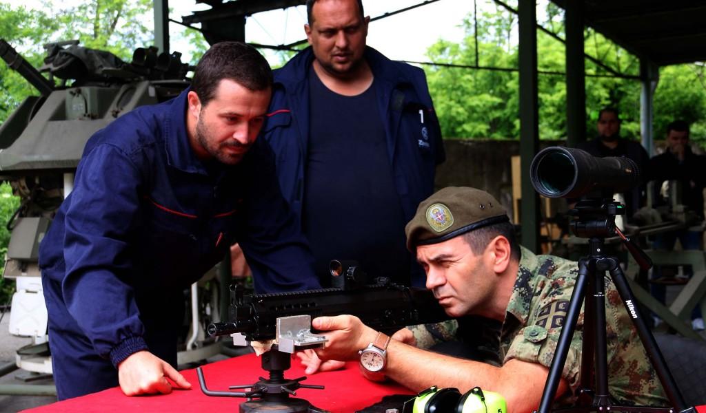 Завршна фаза испитивања нових система стрељачког наоружања