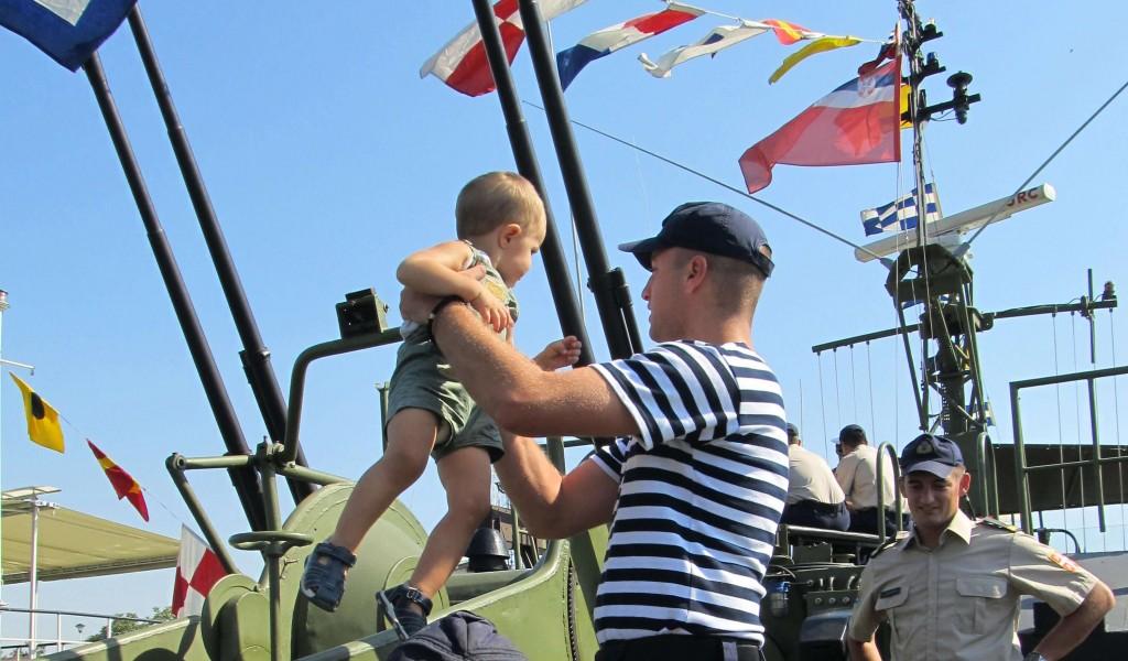 Otvoreni dan Rečne flotile u Novom Bečeju