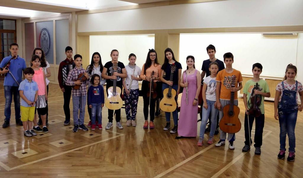 Завршене аудиције за концерт Наша деца