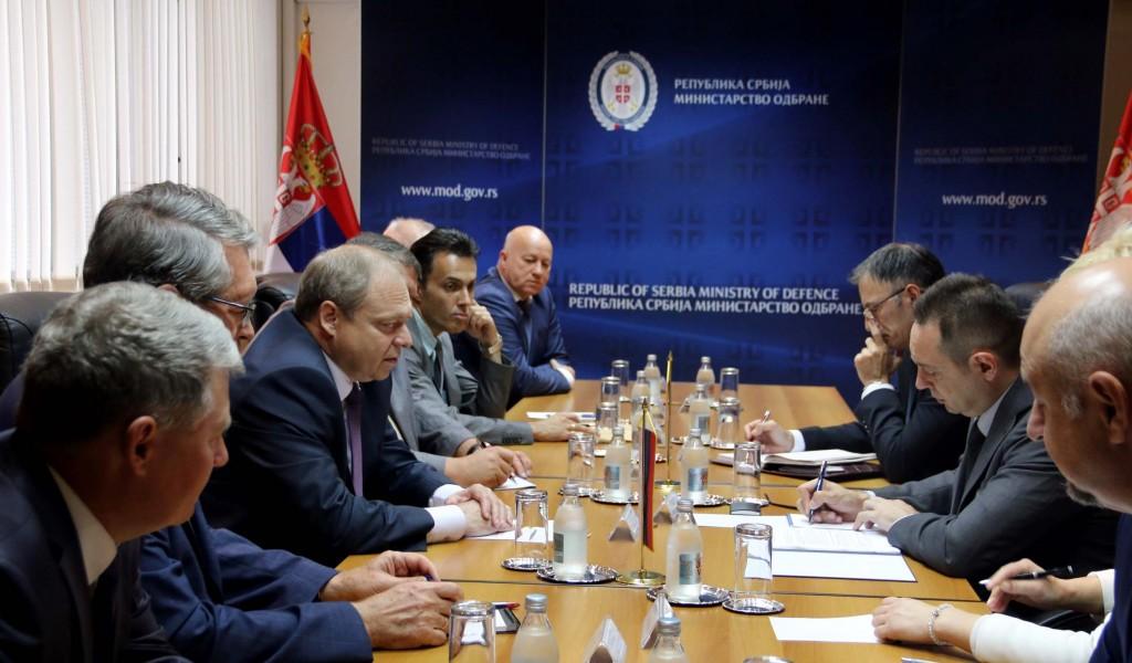 Razvijanje vojnotehničke saradnje sa Ruskom Federacijom od strateškog značaja