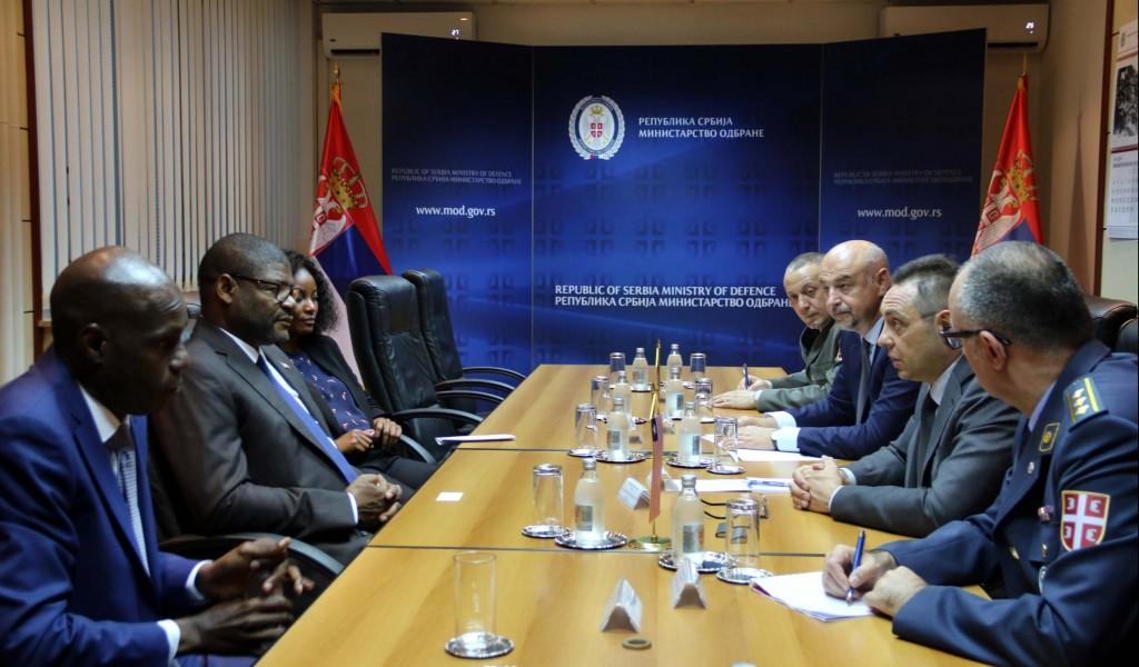 Ministar Vulin Zahvalni smo Liberiji na principijelnom stavu o Kosovu