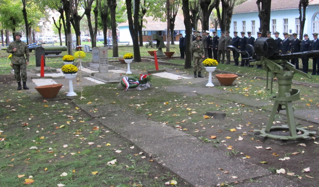 Homage Paid to the Fallen Members of the Red Army
