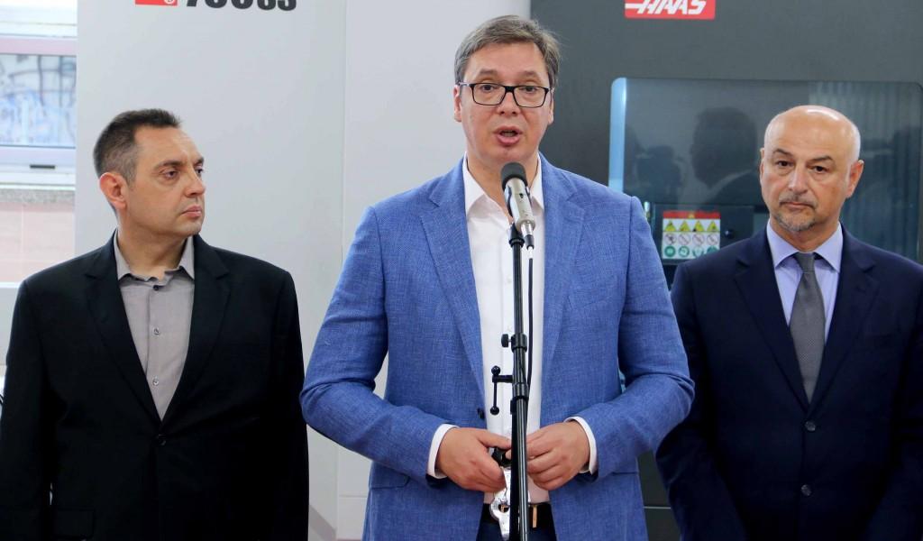 Председник Вучић Срби не треба да учествују у косовским снагама безбедности
