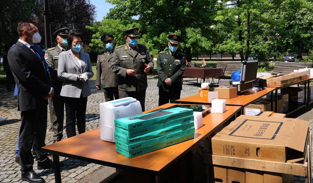 Донација медицинске опреме из НР Кине војном здравству