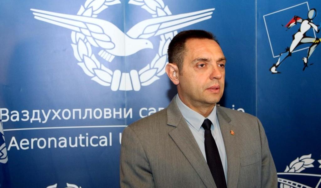 Министар Вулин Поносни на Војску и Полицију