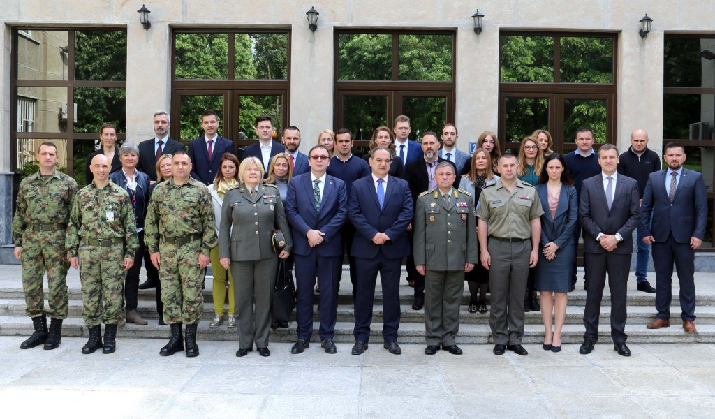 Start of the Course for Training of Civilians for the Participation in Multinational Operations