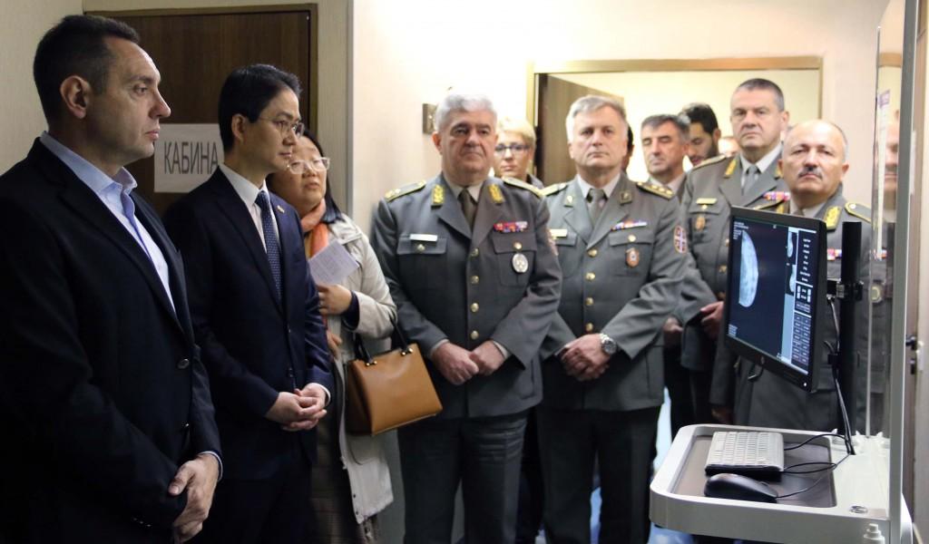Република Кореја донирала медицинску опрему ВМА у вредности од 200 000 долара