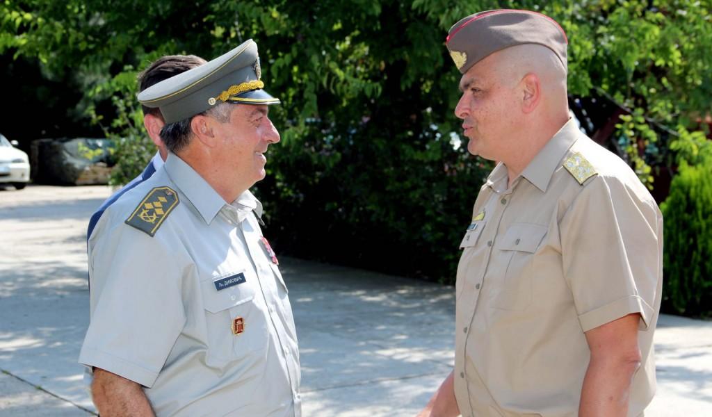 Сусрет начелника Генералштабова војски Србије и Мађарске