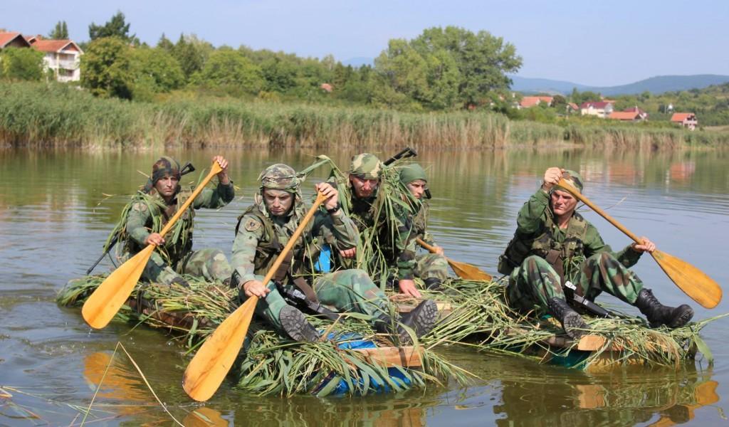 Vežba izviđača Treće brigade Kopnene vojske