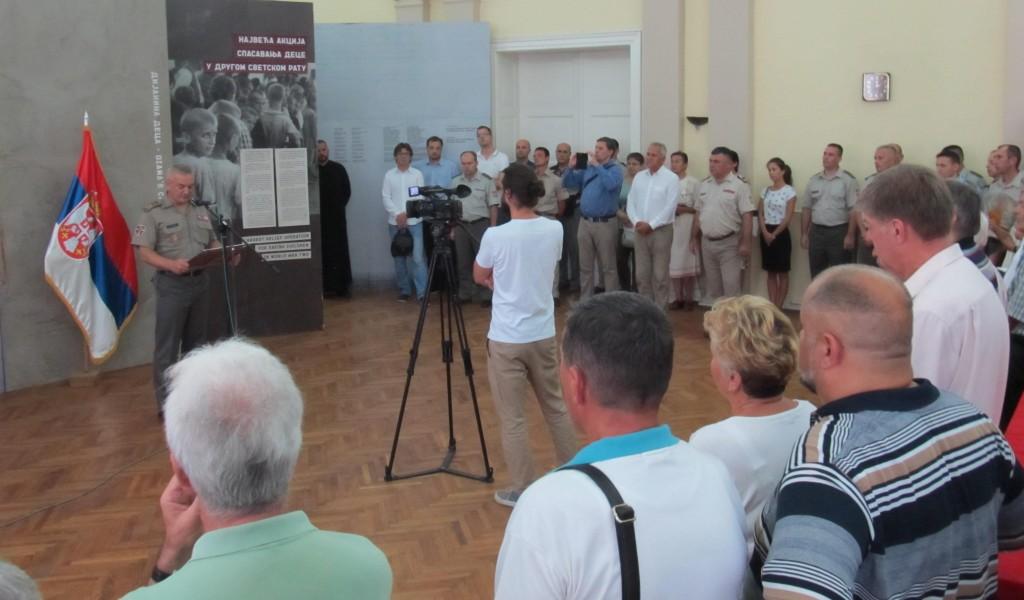 Изложба Дијанина деца отворена у Новом Саду