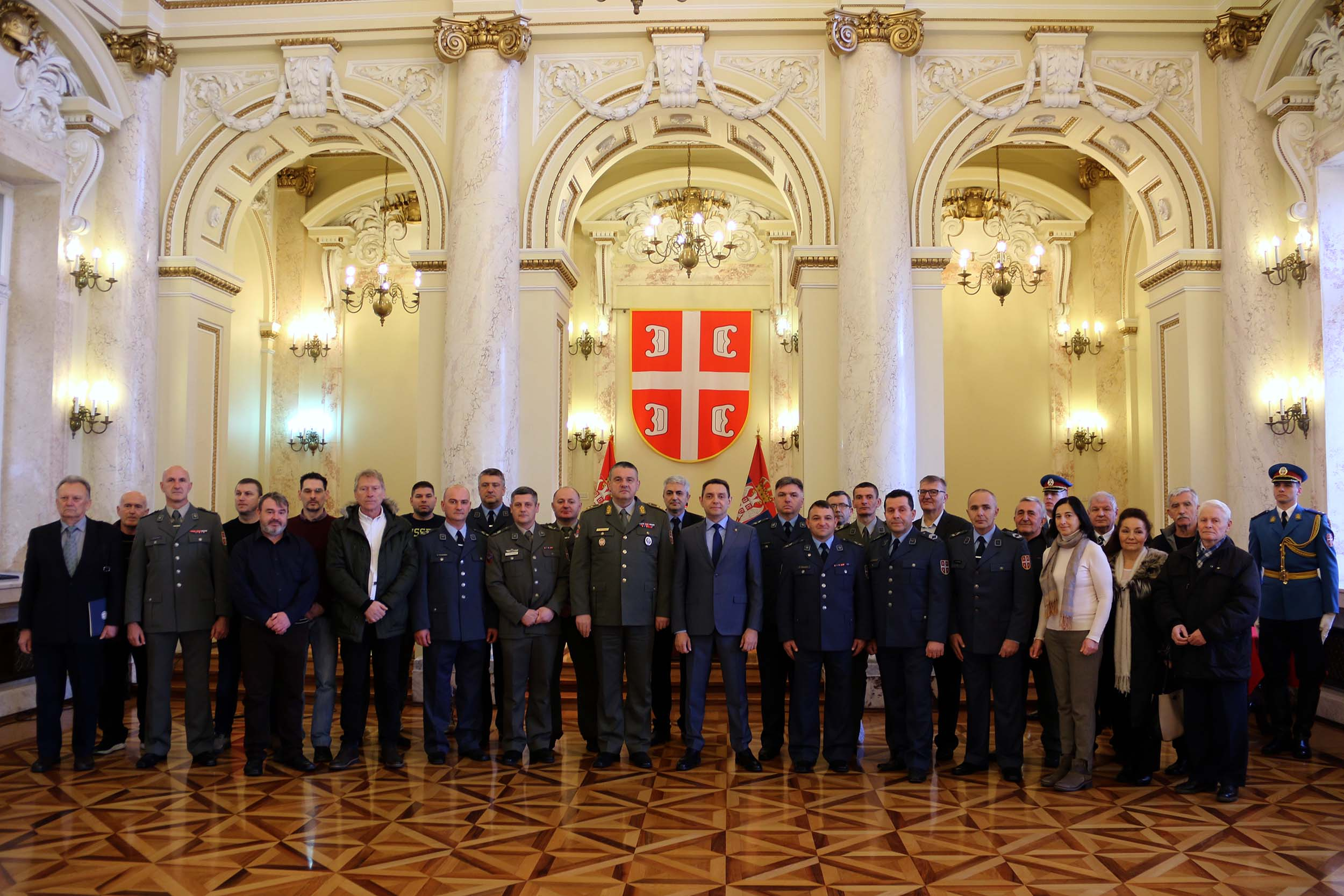 Minister Vulin Standard of members of the Serbian Armed Forces remains our priority