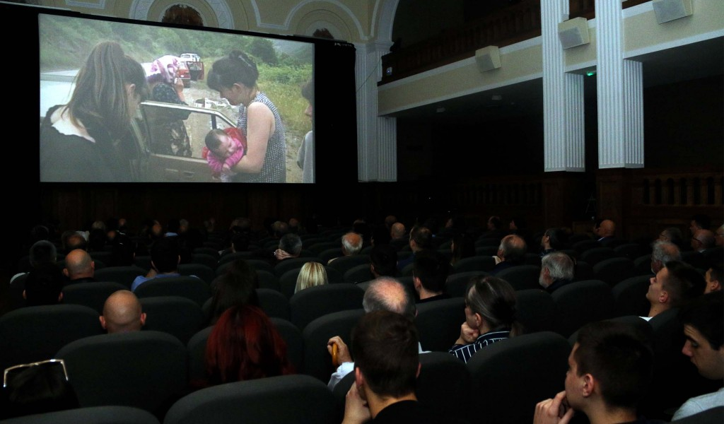 Premiere of the film Humane Bombs by Military Film Center Zastava film