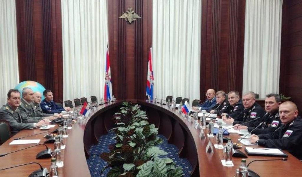 Visit of the delegation of the Budget and Finances Sector to the Ministry of Defense of the Russian Federation