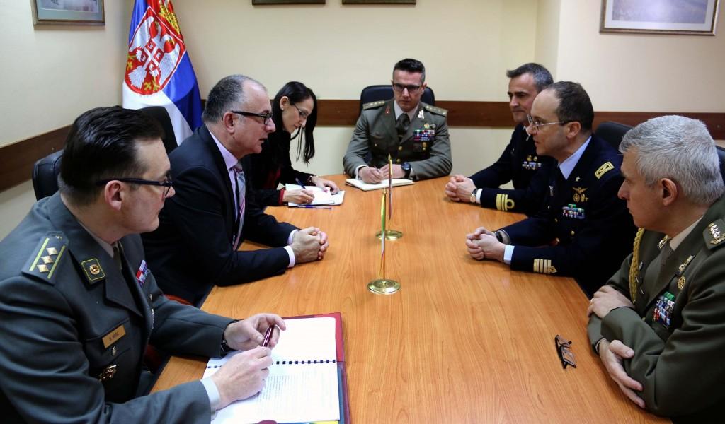 Експертски разговори о сарадњи у области одбране са Републиком Италијом