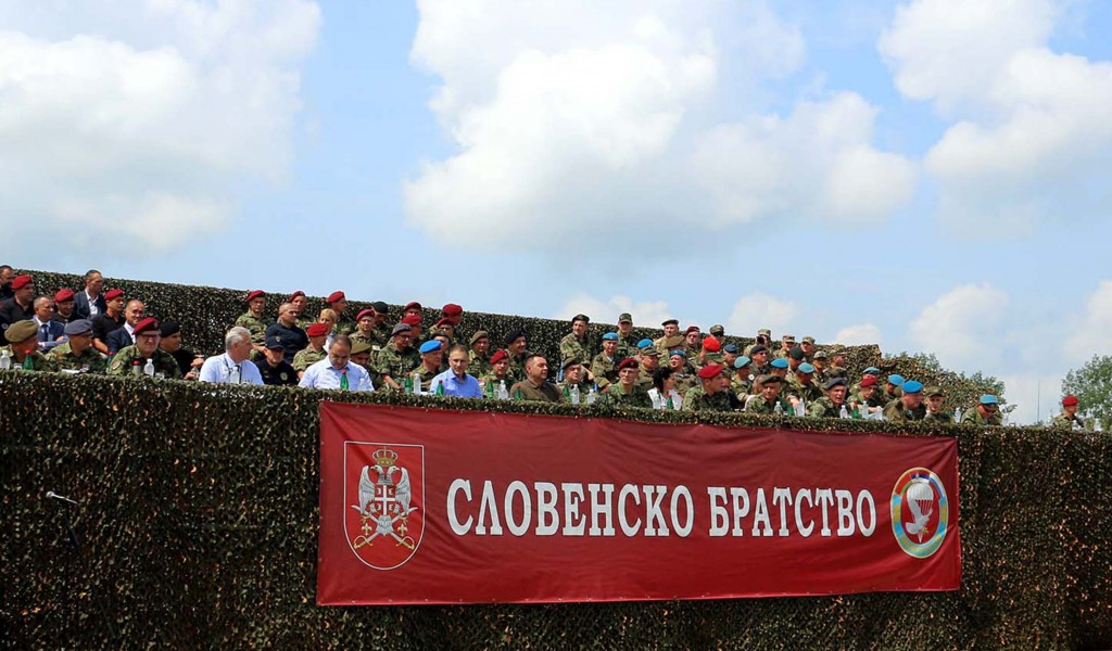 Senior Commander Day at Slavic Brotherhood 2019 Exercise
