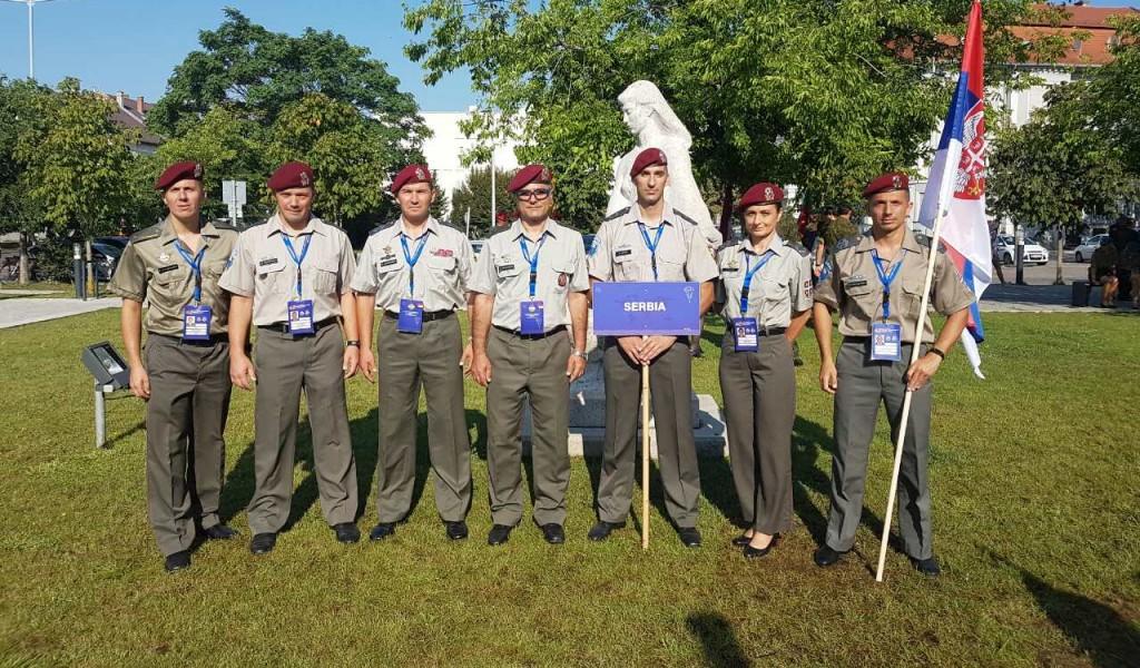 Репрезентација Војске Србије на 42 CISM Светском војном првенству у падобранству