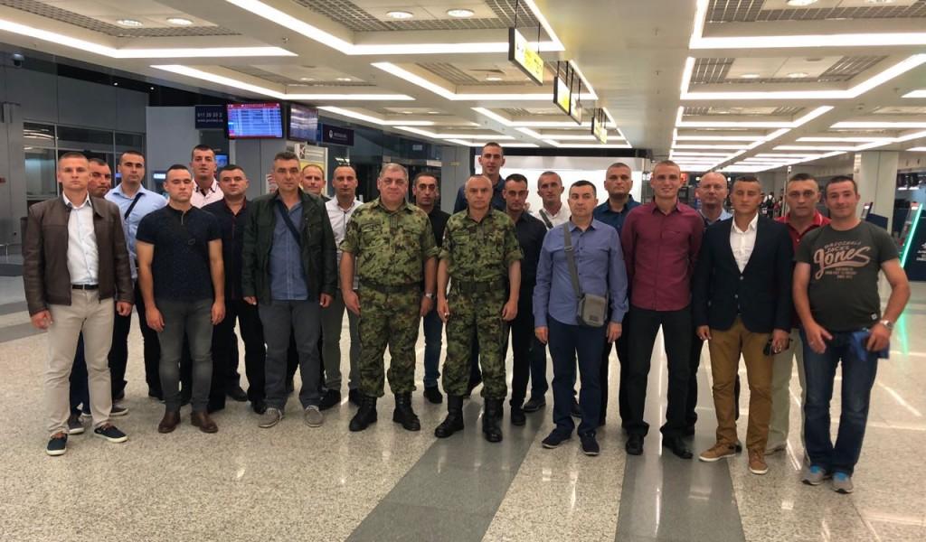 Komandant Kopnene vojske ispratio tenkiste Vojske Srbije na Međunarodne vojne igre