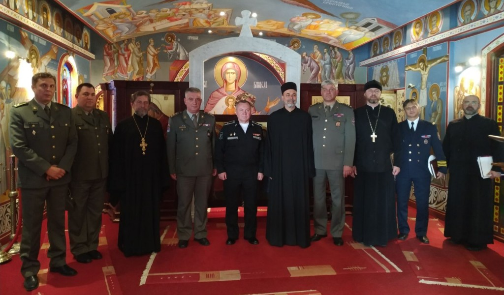 Visit of the delegation of the Religious Service of the Armed Forces of the Russian Federation